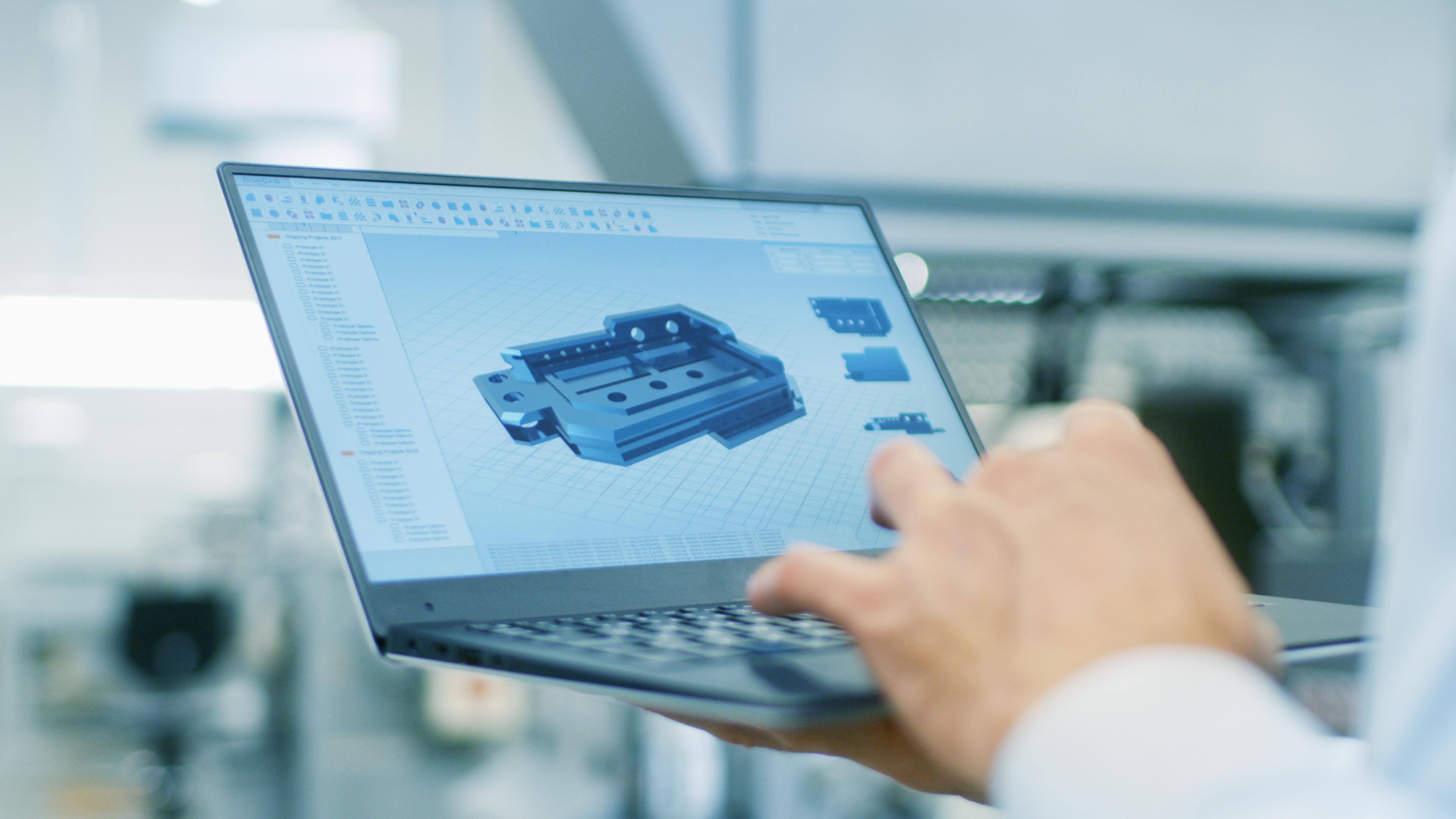 Conception assistée par ordinateur (CAO) - EroDecoupe Industrie